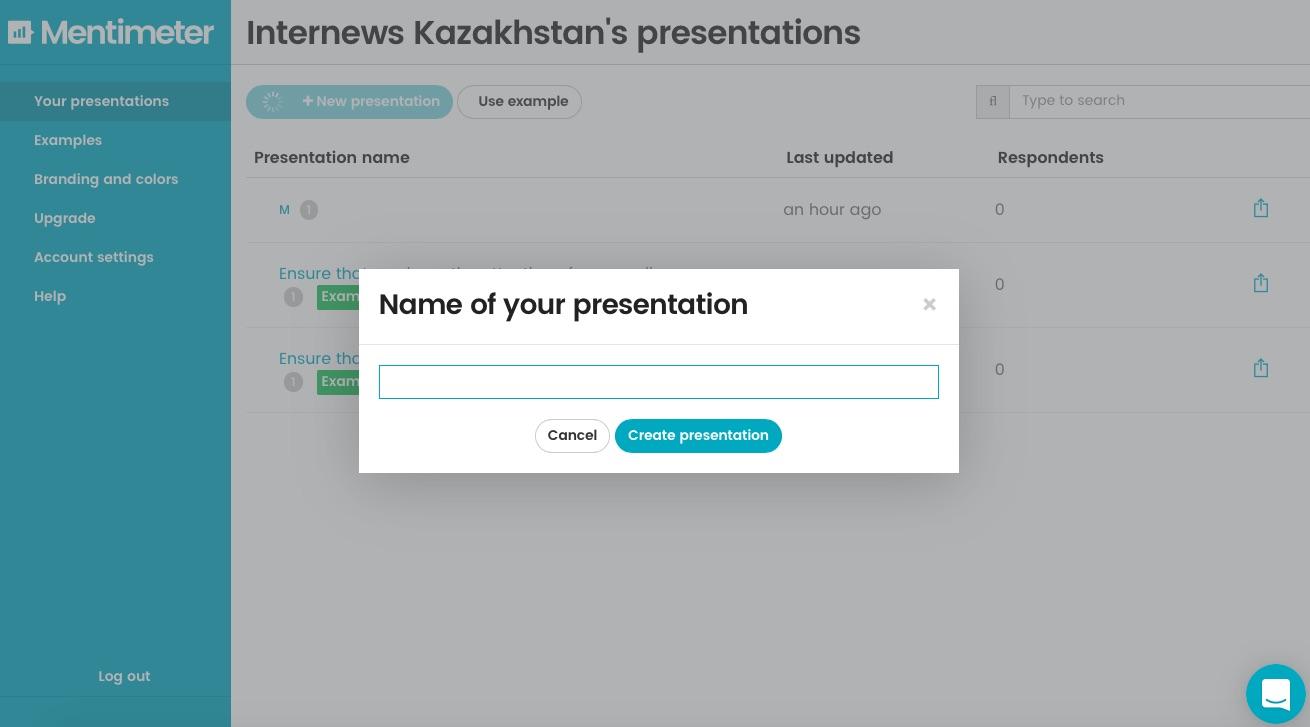 Mentimeter.com - онлайн-опросы в режиме реального времени